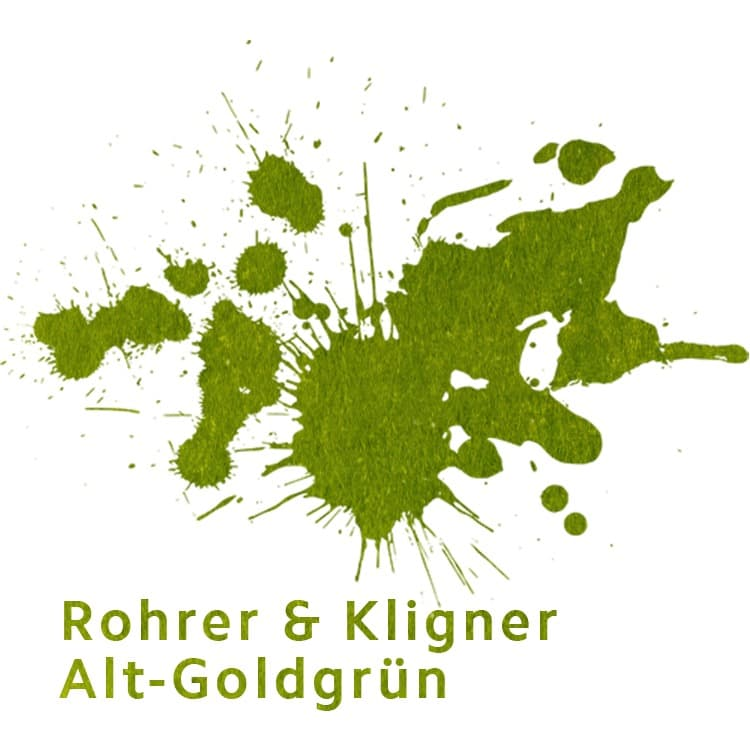 Rohrer & Klingner Alt-Goldgrün